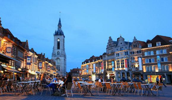 Grand Place von Tournai - © CGT - A. Siquet