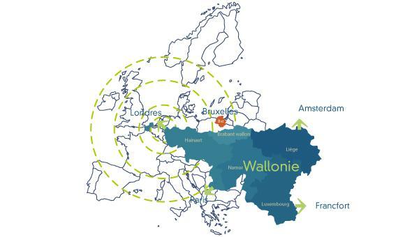 Investieren in der Wallonie